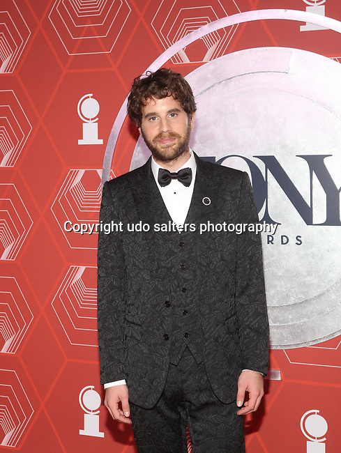 Ben Platt attends the 74th Tony Awards-Broadway's Back! arrivals at the Winter Garden Theatre in New York, NY, on September 26, 2021. (Photo by Udo Salters/Sipa USA)