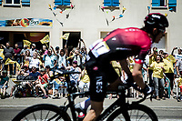 Defending TdF Champion Geraint Thomas (GBR/Ineos) cheered on by the excited roadside fans<br />  <br /> Stage 5: Saint-Dié-des-Vosges to Colmar (175km)<br /> 106th Tour de France 2019 (2.UWT)<br /> <br /> ©kramon