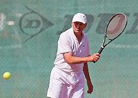 August 24, 2014, Netherlands, Amstelveen, De Kegel, National Veterans Championships, Peter Vaarties (NED)<br /> Photo: Tennisimages/Henk Koster