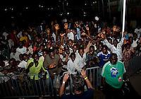 Nigeria Fans. US Under-17 Men's National Team defeated United Arab Emirates 1-0 at Gateway International  Stadium in Ijebu-Ode, Nigeria on November 1, 2009.