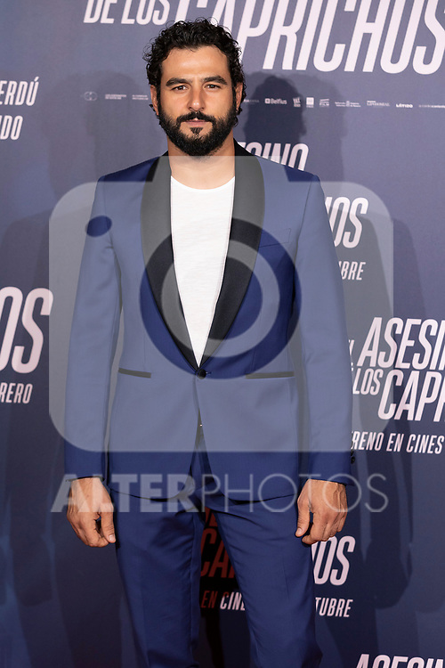 Actor Antonio Velazquez attends the photocall of 'El Asesino de los Caprichos'. October 15, 2019. (ALTERPHOTOS/Johana Hernandez)