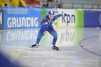 SCHAATSEN: HEERENVEEN: 15-12-2018, ISU World Cup, 500m Ladies Division B, Ye Won Nam (KOR), ©foto Martin de Jong