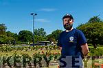 Andrew Griffin (Gardener), pictured atTralee Town Park.