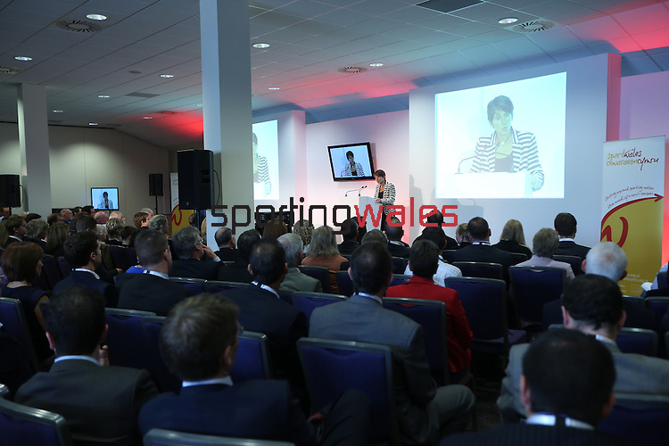 Sport Wales Conference 2013<br /> Cardiff City Stadium<br /> 17.06.13<br /> ©Steve Pope