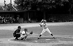 Allentown PA:  Paul Hauck batting during the final game for Bethel Park at the American Legion Baseball Championship.  It was a round-robin tournament and we lost their first two games and were out of the tournament.