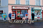 Members of SIPTU Health division hold a protest at the constituency office in Tralee of Norma Foley TD on Friday morning. L to r: Siobhan Burns, Billy Dowling, Danny Lyons, Catherine O'Sullivan, James Allman, Tony Doodey and Francis Smyth