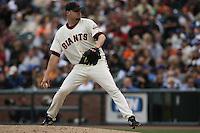 Jason Schmidt. Baseball: Los Angeles Dodgers vs San Francisco Giants at AT&T Park in San Francisco, CA on October 1, 2006. Photo by Brad Mangin