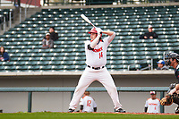Patrick Macdonald (14) of Hillcrest High School in Eastvale, California during the Under Armour All-American Pre-Season Tournament presented by Baseball Factory on January 14, 2017 at Sloan Park in Mesa, Arizona.  (Freek Bouw/MJP/Four Seam Images)