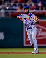 21 September 2018: New York Mets outfielder Amed Rosario gets the first out in the bottom of the 5th inning against the Washington Nationals at Nationals Park in Washington, DC. The Mets defeated the Nationals 4-2 in the second game of their 4-game series. Mandatory Credit: Ed Wolfstein Photo *** RAW (NEF) Image File Available ***