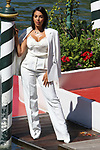 Spanish Georgina Rodriguez is seen at the 77th Venice Film Festival  at the Lido in Venice, Italy on September 3, 2020. Georgina Rodriguez <br /> <br /> / 0392020<br /> <br /> ***Venice Film Festival - Georgina Rodriguez****