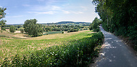 cycling path view from the Scherpenbergweg <br /> cycling hotspots & impressions in Heuvelland<br /> <br /> Cycling In Flanders <br /> Flanders Tourist Board<br /> <br /> ©kramon