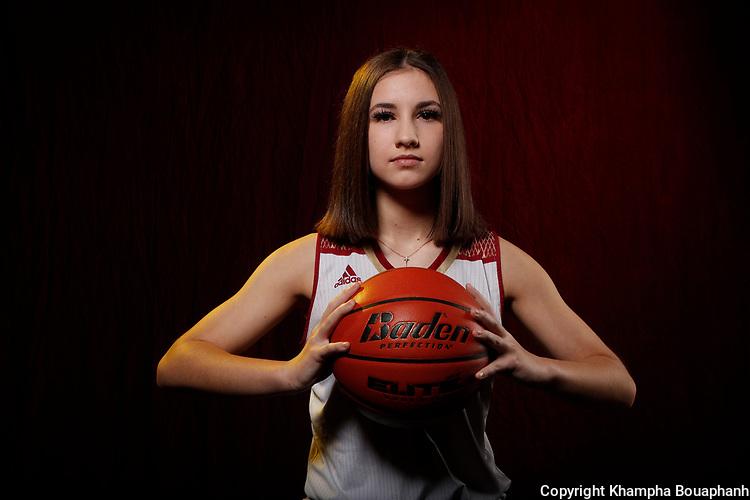 Saginaw High School girls basketball, photographed Wednesday, November 11, 2020.. (Photo by Khampha Bouaphanh)