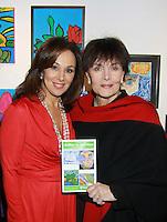 11-04-11 3rd Annual ArtShare for HeartShare, New Century Artists Gallery -Linda Dano -Rosanna Scotto