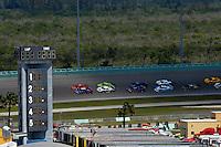 #10 SunTrust Pontiac/Riley and the #99 GAINSCO/Bob Stallings Racing Pontiac/Riley of Jon Fogarty & Alex Gurney lead the field to the green flag.