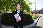 Chief exec Stewart Regan after the SFA's AGM at Glasgow City Chambers