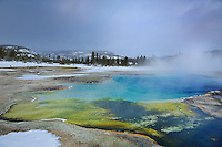 YELLOWSTONE NP, WYOMING/USA<br /> Fountain Paint Pot Trail - Celestine Spring<br /> <br /> Full size: 69,2 MB