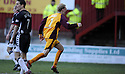 07/02/2009  Copyright Pic: James Stewart.File Name : sct_jspa08_motherwell_v_stmirren.STEPHEN HUGHES CELEBRATES AFTER SCORING THE EQUALISER.James Stewart Photo Agency 19 Carronlea Drive, Falkirk. FK2 8DN      Vat Reg No. 607 6932 25.Studio      : +44 (0)1324 611191 .Mobile      : +44 (0)7721 416997.E-mail  :  jim@jspa.co.uk.If you require further information then contact Jim Stewart on any of the numbers above.........