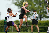 20 June 2006: Michelle DeChant during Stanford's 17-9 loss to Northwestern in the first round of the 2006 NCAA Lacrosse Championships in Evanston, IL. Stanford made it to the NCAA's for the first time in school history.