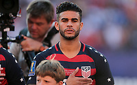 Cleveland, OH - Saturday July 15, 2017: Dom Dwyer during a 2017 Gold Cup match between the men's national teams of the United States (USA) and Nicaragua (NCA) at FirstEnergy Stadium.