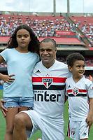 São Paulo (SP), 15/12/2019 - Futebol-Legendscup - Denilson durante torneio entre as lendas de São Paulo, Barcelona, Bayern e Borussia Dortmund no estádio do Morumbi, em São Paulo (SP), domingo (15).