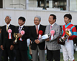 Breeders' Cup Challenge winner, Earnestly, wins his fall debut in the G2 Nikkei Sho All Comers (G2) at Nakayama Racecourse on September 25th, 2011.