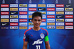 Sunil Chhetri (CHHETRI) (C) of JSW Bengaluru FC (India) at flash interview after winning the match during match AFCCQF1 – AFC Cup 2016 Quarter Finals<br /> JSWBENGALURUFC(IND) – JSW Bengaluru FC (India)<br /> vs<br /> TAMPINESROVERS(SIN) – Tampines Rovers (Singapore)<br /> at Kanteerava Stadium, Bangalore, Karnataka on 14th Septembar 2016.<br /> Photo by Saikat Das/Lagardere Sports