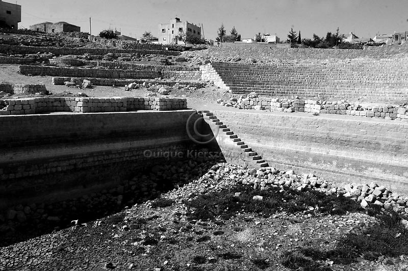 A dry aquifer is seen in the Palestinian town of Carmel in the West Bank, Southern hebron hills. The water crisis has increased in the West Bank in the last months due the Israeli restrictions on water. Amnesty International has accused Israel of denying Palestinians adequate access to water while allowing Jewish settlers in the occupied West Bank almost unlimited supplies. Photo by Quique Kierszenbaum