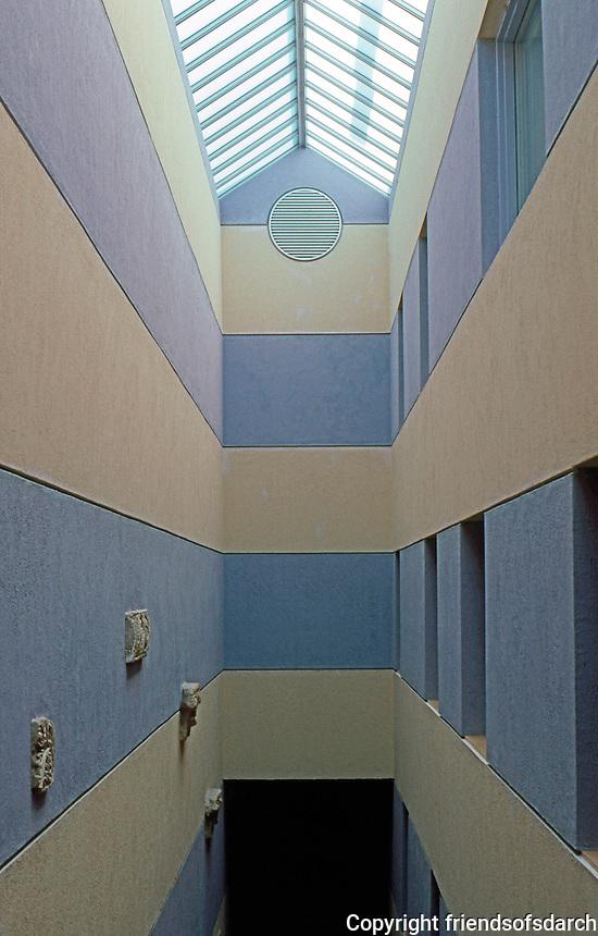 James Stirling & Michael Wilton Assoc.: Sackler Museum--Stairwell. Harvard University.