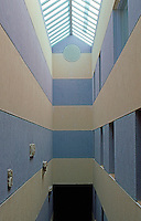 James Stirling & Michael Wilton Assoc.: Sackler Museum--Stairwell. Harvard University.