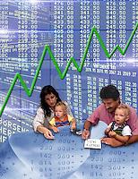 Crisi economica della famiglia. Economic crisis of family....