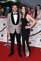 Fred Sirieix and daughter, Andrea<br /> arriving for the National Television Awards 2021, O2 Arena, London<br /> <br /> ©Ash Knotek  D3572  09/09/2021