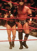 Triple H Chyna 1999                                                            Photo by  John Barrett/PHOTOlink