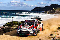 11th October 2020, Alghero, ‎Sardinia, Italy; WRC Rally of Sardinia;  Elfyn EVANS who finished in 4th place