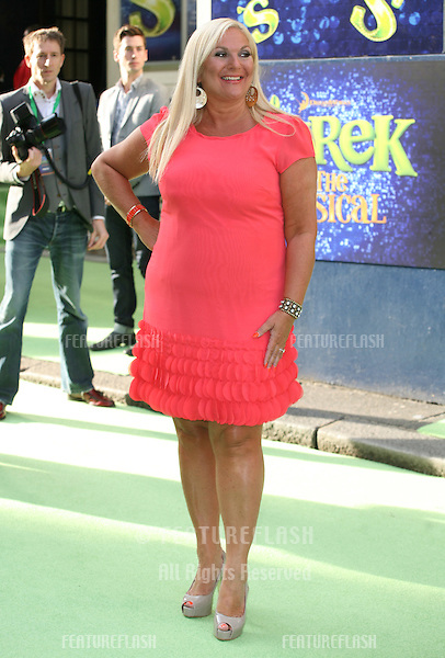 Vanessa Feltz attending the Shrek The Musical Press Night, at the The Theatre Royal, London. 14/06/2011  Picture by: Alexandra Glen / Featureflash
