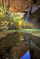 Lower Calf Creek Falls.  Grandstaircase-Escalante National Monument, Utah.