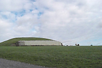 Newgrange is one of the oldest human structures on Earth. It predates the Egyptian Pyramids and the clever interior design keeps it dry inside despite the wet climate of Ireland.