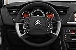 Car pictures of steering wheel view of a 2016 Citroen C5-Tourer Hydractive-Exclusive 5 Door wagon Steering Wheel
