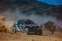 3rd January 2021, Jeddah, Saudi Arabia;  393 Baud Lionel (fra), Minaudier Loic (fra), , PH Sport, Light Weight Vehicles Prototype - T3, action during the 1st stage of the Dakar 2021 between Jeddah and Bisha, in Saudi Arabia on January 3, 2021 -