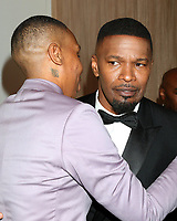 LOS ANGELES - FEB 23:  Lena Waithe, Jamie Foxx at the American Black Film Festival Honors Awards at the Beverly Hilton Hotel on February 23, 2020 in Beverly Hills, CA
