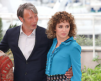 MADS MIKKELSEN AND VALERIA GOLINO - PHOTOCALL OF THE JURY AT THE 69TH FESTIVAL OF CANNES 2016