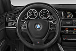 Car pictures of steering wheel view of a 2017 BMW X3 xDrive28d 5 Door SUV Steering Wheel