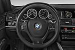 Car pictures of steering wheel view of a 2017 BMW X3 xDrive28d 5 Door SUV Steering Wheel