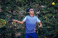 Hilversum, Netherlands, August 6, 2018, National Junior Championships, NJK, Jessy Tan (NED)<br /> Photo: Tennisimages/Henk Koster
