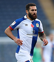 7th November 2020; Ewood Park, Blackburn, Lancashire, England; English Football League Championship Football, Blackburn Rovers versus Queens Park Rangers; Ben Brereton of Blackburn Rovers wearing a shirt with a Remembrance Day Poppy on the chest