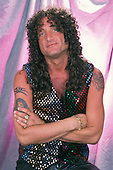 SUNRISE, FL - JULY 6 : Kevin DuBrow of Quiet Riot during a photo session at the Sunrise Theater on July 6, 2001 in Sunrise, Florida. Credit Larry Marano (C) 2001