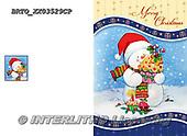 Alfredo, CHRISTMAS SANTA, SNOWMAN, WEIHNACHTSMÄNNER, SCHNEEMÄNNER, PAPÁ NOEL, MUÑECOS DE NIEVE, paintings+++++,BRTOXX03529CP,#x#