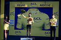 Adam Yates (GBR/Mitchelton-Scott) is the surprise new yellow jersey/overall leader as Julian Alaphilippe was fined a 20 seconds penalty after an irregular race feed.<br /> <br /> Stage 5 from Gap to Privas (183km)<br /> <br /> 107th Tour de France 2020 (2.UWT)<br /> (the 'postponed edition' held in september)<br /> <br /> ©kramon