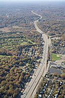 Rt 2., Belmont, aerial, MA