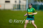 Kerrys Sarah Murphy in action against Galway in the National Camogie league in Lixnaw on Saturday.