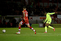 Tyrese Omotoye of Leyton Orient goes close during Crawley Town vs Leyton Orient, Papa John's Trophy Football at The People's Pension Stadium on 5th October 2021